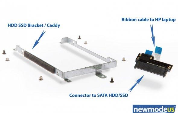 2nd HDD hardware kit