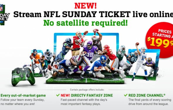 NFL Sunday Ticket 2014 online