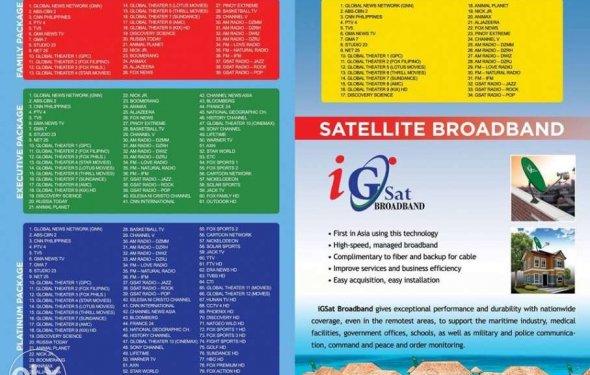 Satellite cable installation